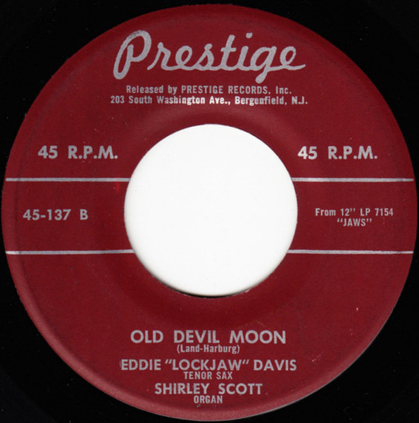 Eddie 'Lockjaw' Davis With Shirley Scott Body And Soul / Old Devil Moon