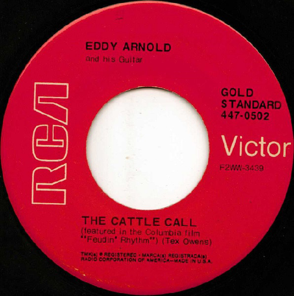 Eddy Arnold Cattle Call Records Lps Vinyl And Cds Musicstack