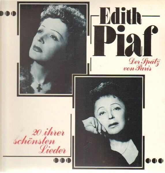 EDITH PIAF - 20 Ihrer Schönsten Lieder - 33T