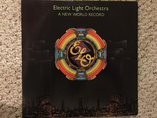 Electric Light Orchestra A New World Record (TERRE HAUTE PRESSING)