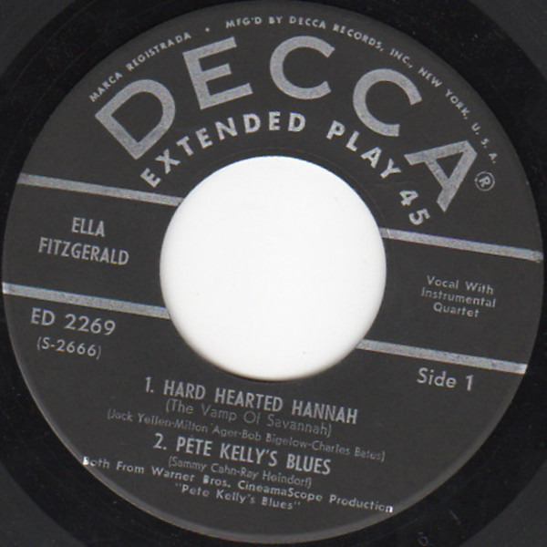 #<Artist:0x00007f5f57eb7798> - Songs From Pete Kelly's Blues