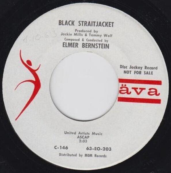 Elmer Bernstein Black Straitjacket (PROMO COPY)