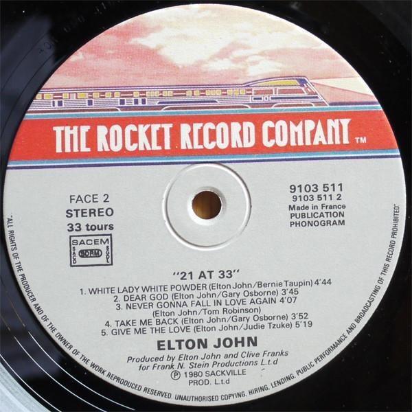 Elton John 21 At 33
