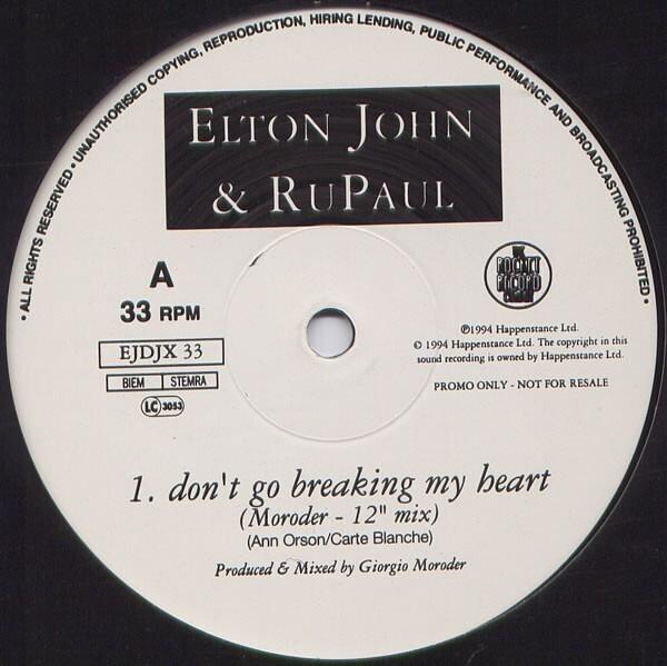 #<Artist:0x007fa8b0c0a9a8> - Don't Go Breaking My Heart