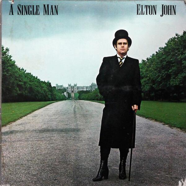elton john a single man (gatefold)
