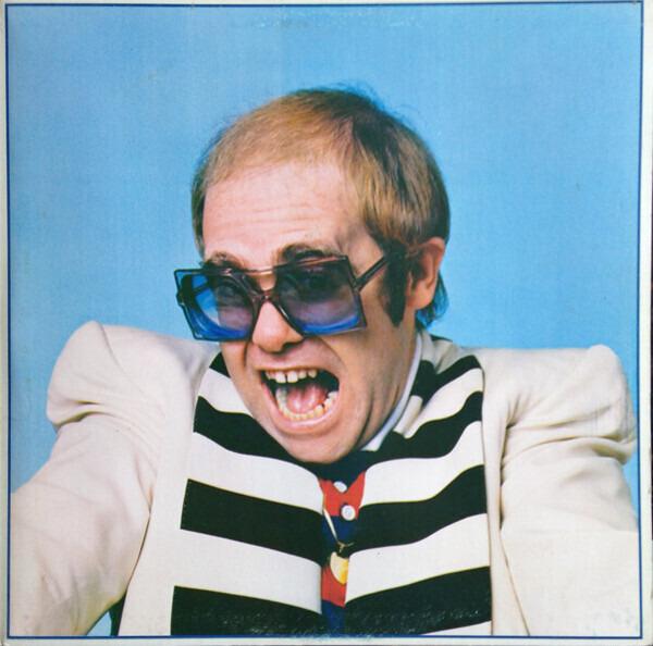 Elton John Blue Moves (GATEFOLD)