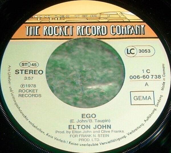Elton John Ego / Flinstone Boy