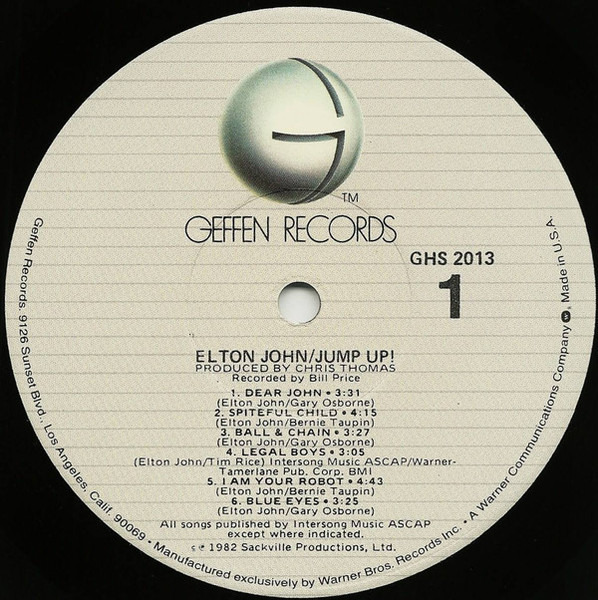 Elton John Jump Up! (PROMO)
