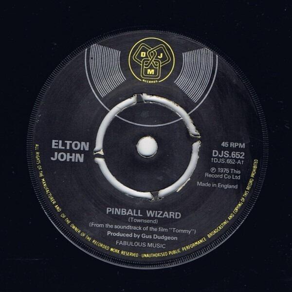Elton John Pinball Wizard / Harmony