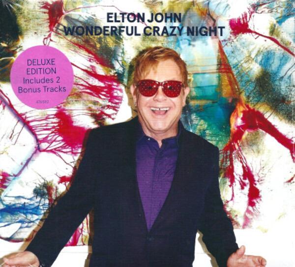 Elton John Wonderful Crazy Night (DIGISLEEVE)