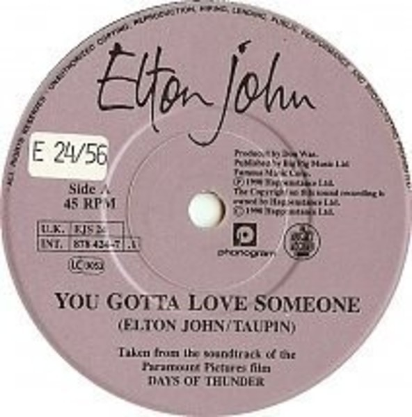 elton john you gotta love someone