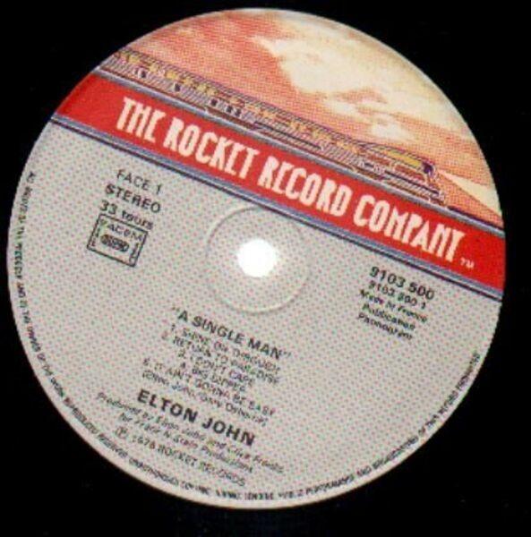 Elton John A Single Man (FOC)