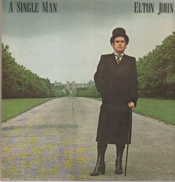 Elton John A Single Man (GATEFOLD)