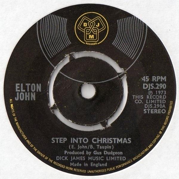 Elton John Step Into Christmas.Elton John Step Into Christmas