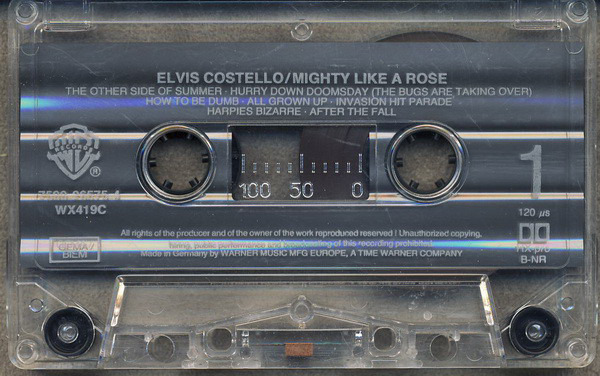 Elvis Costello Mighty Like A Rose (STILL SEALED)