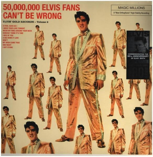 #<Artist:0x00007f3849a3f9e8> - 50,000,000 Elvis Fans Can't Be Wrong