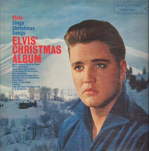 Elvis Christmas Album.Elvis Presley Elvis Christmas Album 1957 Usa Mono
