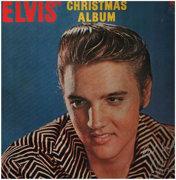 #<Artist:0x00007fc7f8dd2be8> - Elvis' Christmas Album (1957)
