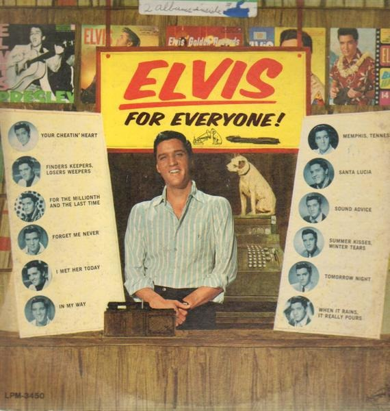 #<Artist:0x007f278226cea0> - Elvis for Everyone!
