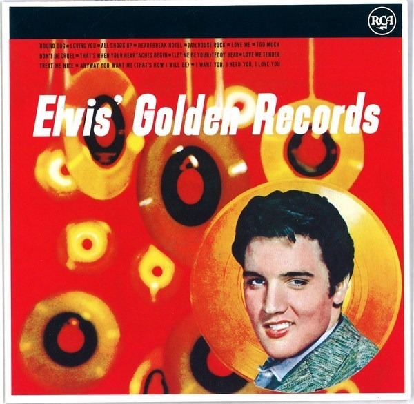 #<Artist:0x00007fd88c194058> - Elvis' Golden Records Volume 1