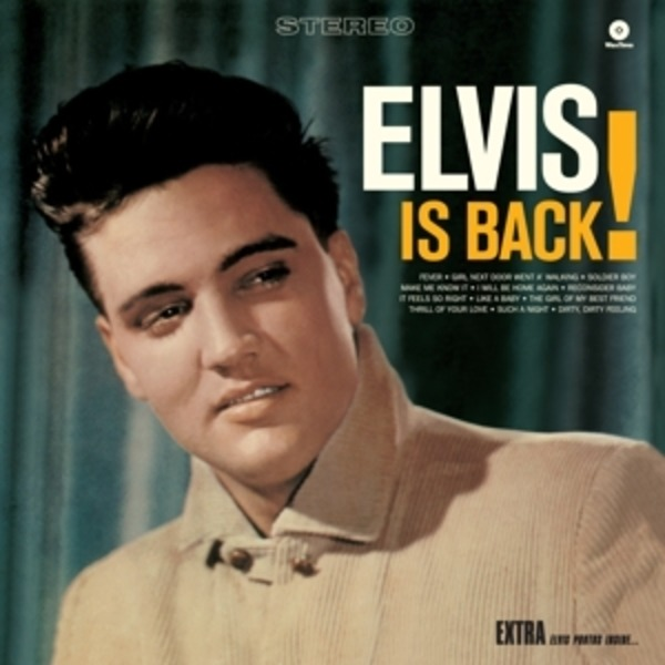#<Artist:0x007f9b68927880> - Elvis Is Back!