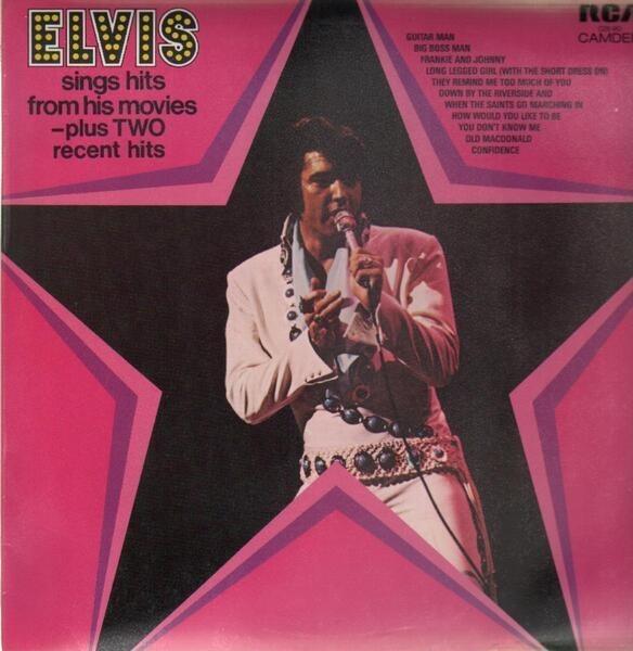 #<Artist:0x000000070fb318> - Elvis Sings Hits From His Movies Volume 1