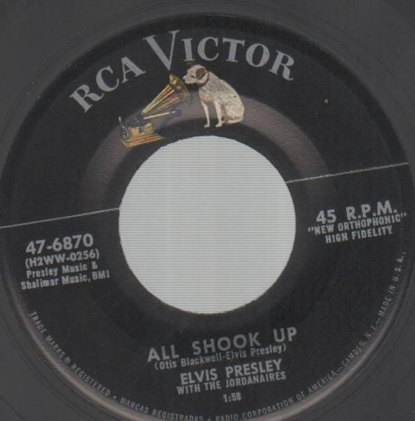 #<Artist:0x00007fd883d18590> - All Shook Up