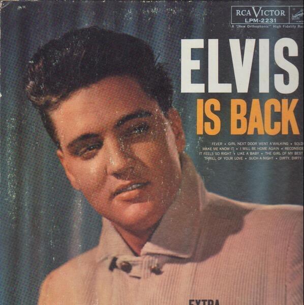 #<Artist:0x00007f3861ce8b78> - Elvis Is Back!