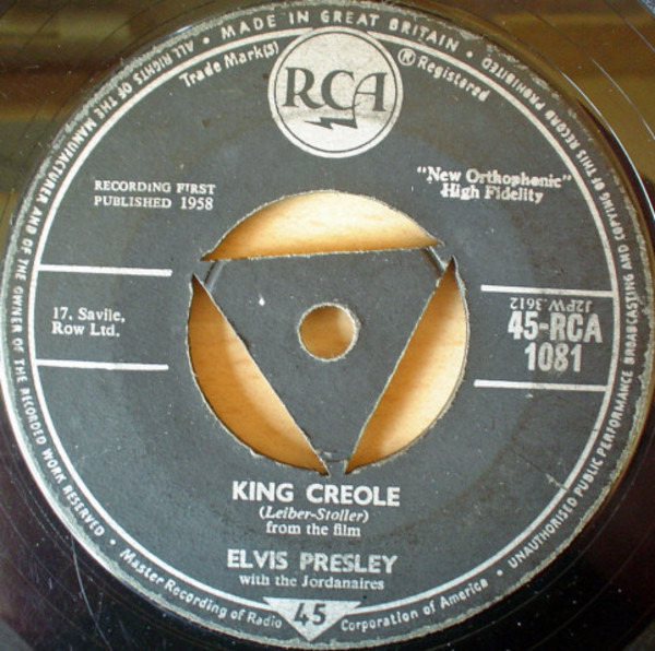 #<Artist:0x00007fcea5c998b8> - King Creole