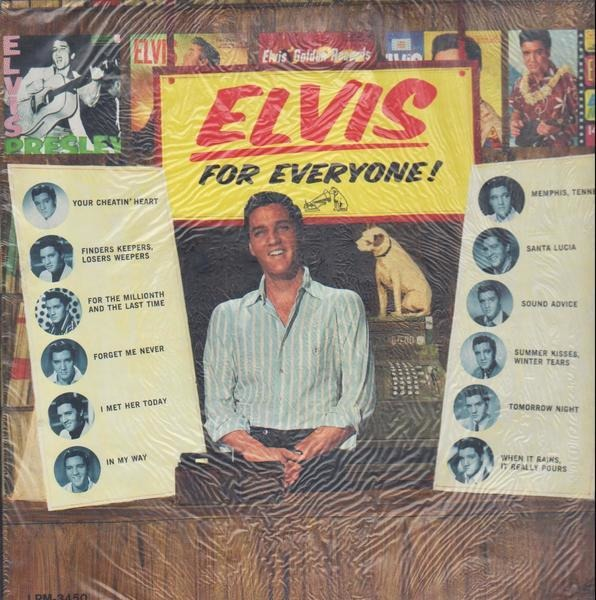 #<Artist:0x00007f56713bf7a8> - Elvis for Everyone!