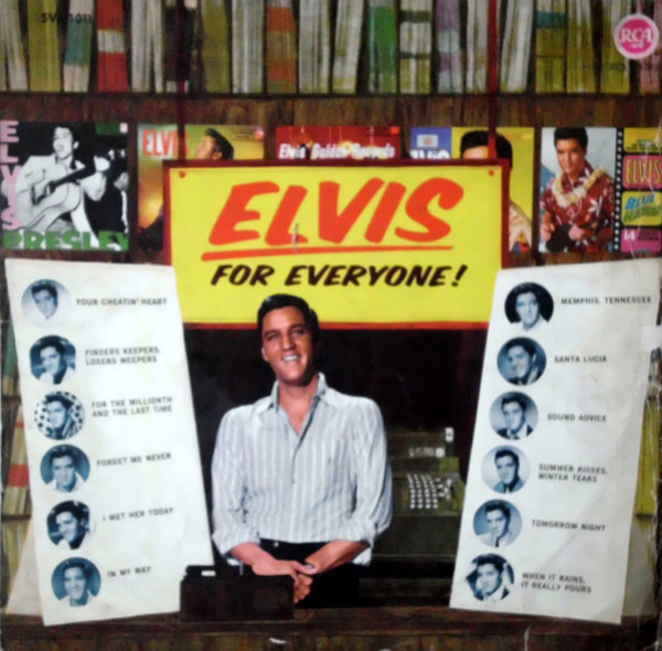 #<Artist:0x007f739d3c90c0> - Elvis for Everyone!