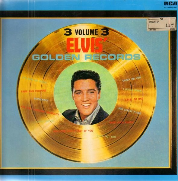 #<Artist:0x007f985fe07a50> - Elvis' Golden Records Volume 3