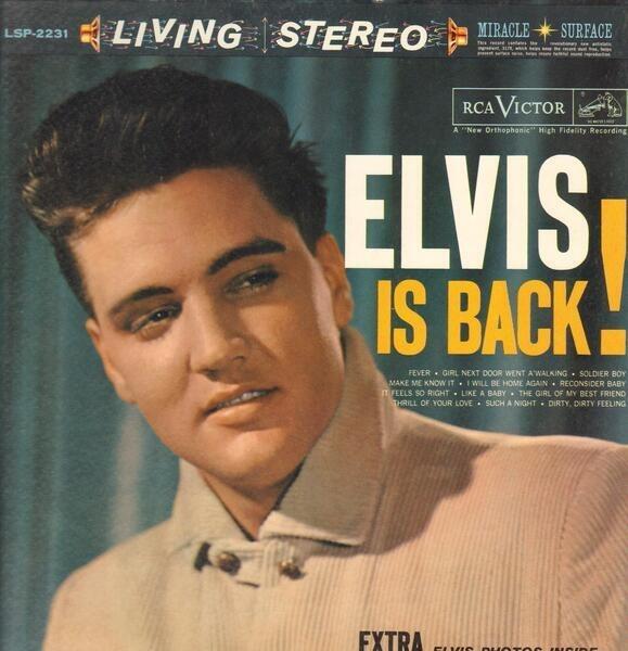 #<Artist:0x00007fcea7395698> - Elvis Is Back!