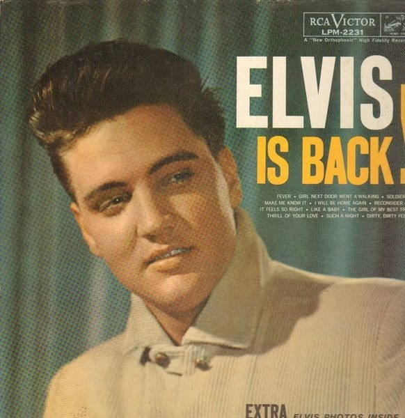 #<Artist:0x007f35bcbc5040> - Elvis Is Back!
