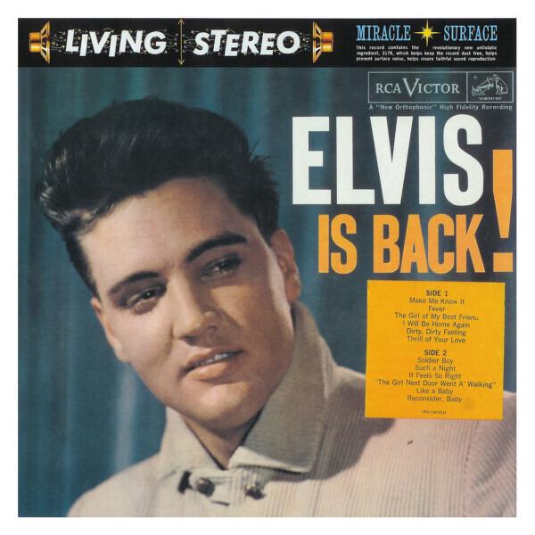 #<Artist:0x00007fd90530b4a8> - Elvis Is Back!