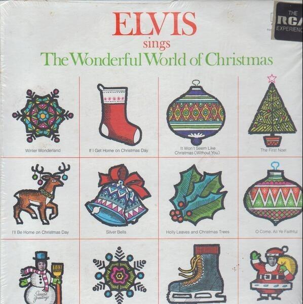 #<Artist:0x00007fcea6ef4850> - Elvis Sings the Wonderful World of Christmas