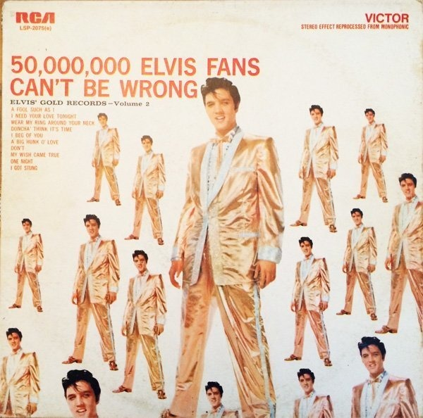 #<Artist:0x007f5c91bd1448> - 50,000,000 Elvis Fans Can't Be Wrong