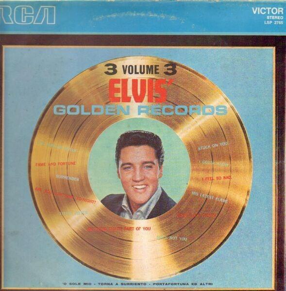 #<Artist:0x007fafb1e935c8> - Elvis' Golden Records Volume 3