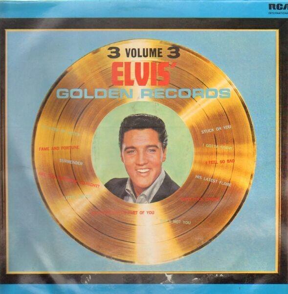 #<Artist:0x007f9f02f41f70> - Elvis' Golden Records Volume 3