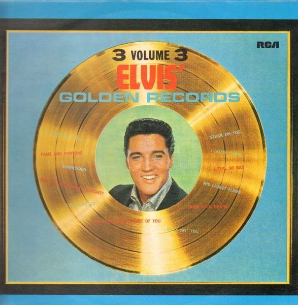 #<Artist:0x00007f4e0c90c048> - Elvis' Golden Records Volume 3