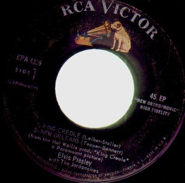 9f0efeb570b King creole vol.1 (indianapolis pressing) by Elvis Presley