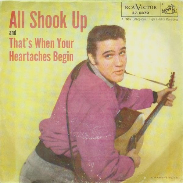 All shook up (company cover) - Elvis Presley With The Jordanaires ...