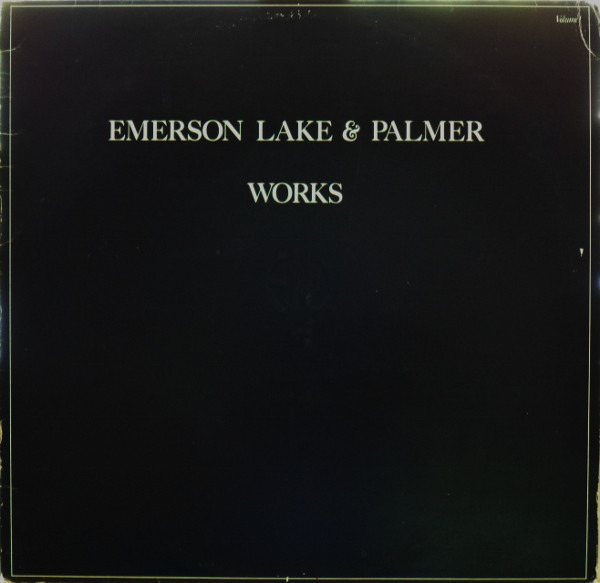 emerson, lake & palmer works volume 1 (embossed cover)