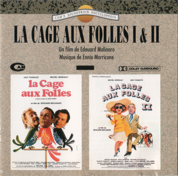 #<Artist:0x00007f4de64b3850> - La Cage Aux Folles I & II