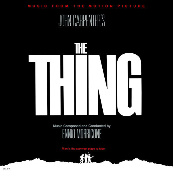 #<Artist:0x00007fce6fabc738> - The Thing - Music From The Motion Picture