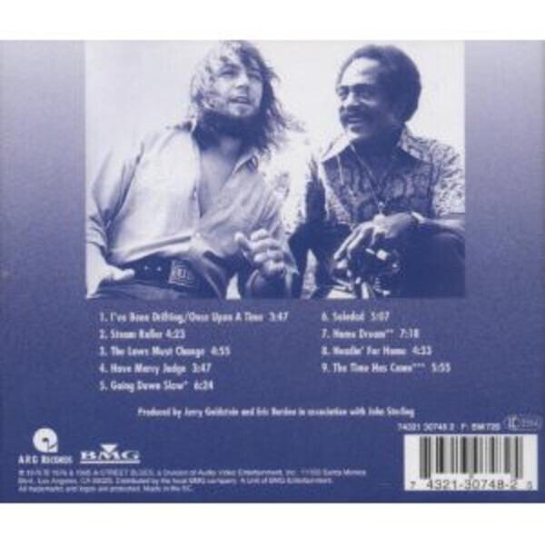Eric Burdon & Jimmy Witherspoon Black & White Blues