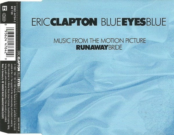 ERIC CLAPTON - Blue Eyes Blue/Circus - CD Maxi