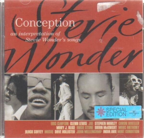 ERIC CLAPTON,GLENN LEWIS,CARON WHEELER,U.A - Conception (An Interpretation Of Stevie Wonder's Songs) (SPECIAL EDITION) - CD