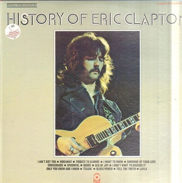 #<Artist:0x00007f8104314a70> - The History Of Eric Clapton