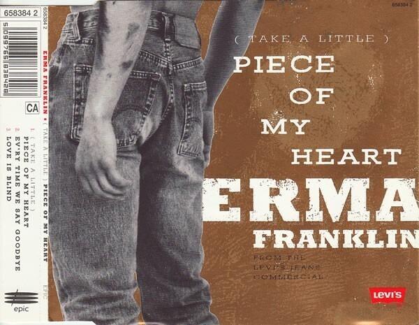 ERMA FRANKLIN - (Take A Little) Piece Of My Heart - CD single